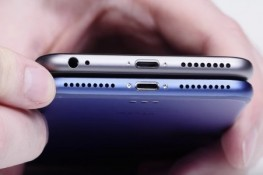 iPhone 7 yağlı boya ile karşı karşıya