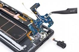 Note8'i ayrıştırma, pil ve ekran değişimi