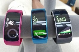 Samsung Gear Fit 2 Pro'ya ait kutu açılış videosu