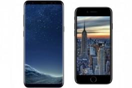 iPhone 8 ile Galaxy S8 tuzlu su testinde birbirinin rakibi oldu