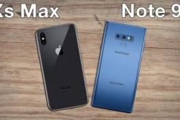 Galaxy Note9 ile iPhone XS Max'ın hoparlör ile parlaklık testi