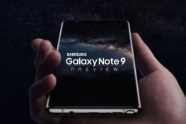 Galaxy Note 9'un konsept çalışma görüntüleri