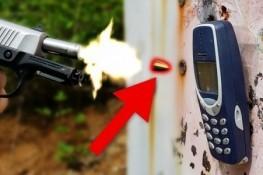Efsane Nokia 3310'u, kurşun bile yıkamadı