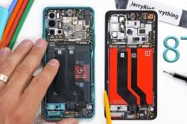OnePlus 8T Parçalarına Ayrıldı