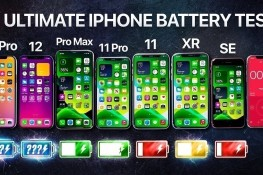 iPhone 12, 12 Pro, 11 Pro Max, 11 Pro, 11, XR ve SE Batarya Testi