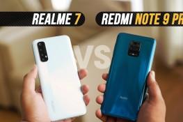 Realme 7 ve Redmi Note 9 Pro Karşılaştırması