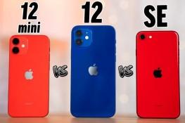 iPhone 12 Mini, 12 ve SE Karşılaştırması
