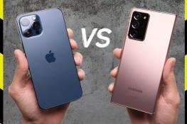 iPhone 12 Pro Max ve Note 20 Ultra Düşme Testi