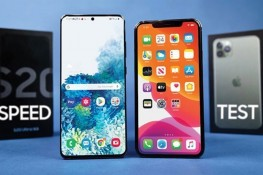 Samsung Galaxy S20 Ultra ve iPhone 11 Pro Max Hız Testi