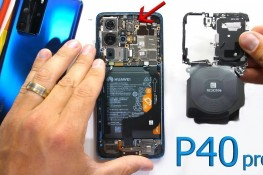 Huawei P40 Pro Parçalarına Ayrıldı