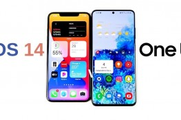 iOS 14 ile One UI Karşılaştırması