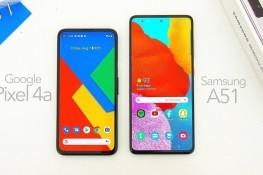 Google Pixel 4a ve Samsung Galaxy A51 Karşılaştırması