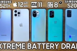 Galaxy S21 Plus, Xiaomi Mi 11, iPhone 12 Pro Max, OnePlus 8T ve S20 Plus Batarya Testi