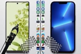 Google Pixel 6 Pro ve iPhone 13 Pro Max Hız Testi