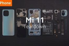Xiaomi Mi 11 Parçalarına Ayrıldı