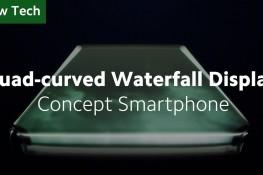 Xiaomi Dört Kenarı Eğimli Konsept Telefonunu Tanıttı
