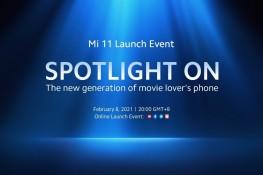 Xiaomi Mi 11 Global Tanıtım Etkinliğini İzleyin