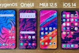 OxygenOS, OneUI, MIUI ve iOS Karşılaştırması