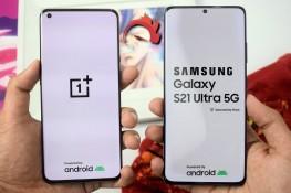 OnePlus 9 Pro ve Galaxy S21 Ultra Hız Testi