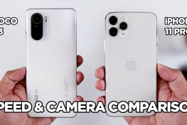 Poco F3 ve iPhone 11 Pro Hız & Kamera Karşılaştırması