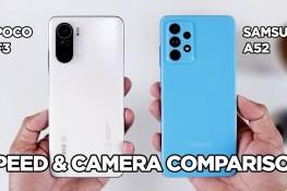 Poco F3 ve Galaxy A52 Hız & Kamera Karşılaştırması