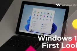 Sızdırılan Windows 11'e İlk Bakış