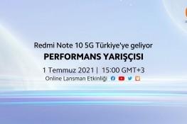Redmi Note 10 5G Türkiye Tanıtım Etkinliğini İzleyin