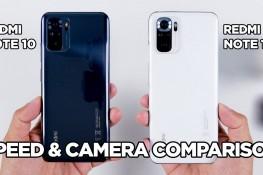 Redmi Note 10 ve Redmi Note 10S Hız & Kamera Karşılaştırması