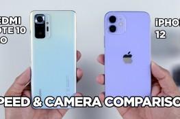 Redmi Note 10 Pro ve iPhone 12 Hız & Kamera Karşılaştırması