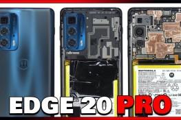 Motorola Edge 20 Pro Parçalarına Ayrıldı