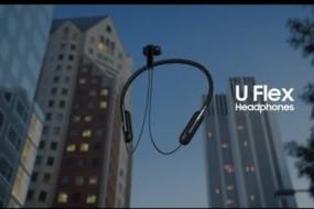 Samsung, U Flex Bükülebilir Bluetooth Kulaklıkları Piyasaya Sundu