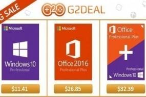 %85 indirim! Windows 10 Pro 12$ ve Office 2016 ise 28$