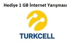 Turkcell Kim 1 GB İster ? Hediye İnternet Fırsatı