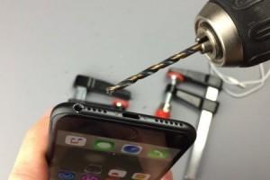 iPhone 7'ye, matkap ile kulaklık girişi açılır mı?