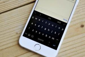 Windows Phone Klavyesi Word Flow'un İos Versiyonundan Ekran Görüntüleri