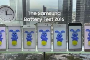 Samsung, rakipleriyle bataryalarını yarıştırdı