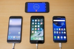 Pixel XL, iPhone 7 Plus ve S7 Edge batarya şarj süreleri
