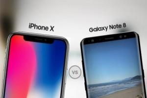 iPhone X ile Galaxy Note 8 kameraları karşı karşıya