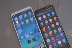 Ultra Geniş Ekranlı Galaxy S8 ve LG G6'nın Karşılaştırması