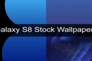 Galaxy S8'in Yüksek Çözünürlüklü Orjinal Duvar Kağıtları