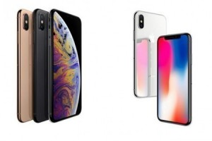 iOS 12 yüklü iPhone Xs ile iPhone X karşı karşıya geldi