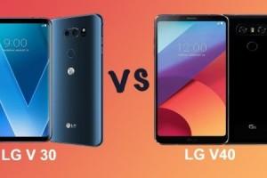 LG V30 ve V40 detaylı inceleme de karşı karşıya