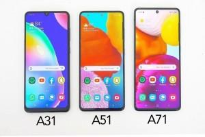 Galaxy A31, Galaxy A51, Galaxy A71 Hız Karşılaştırması