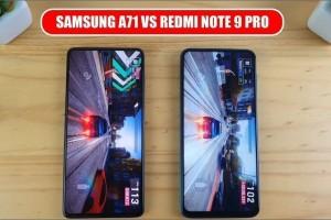 Redmi Note 9 Pro ve Samsung Galaxy A71 Karşılaştırması