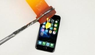 iPhone 7 üzerine, altın eritip döktüler