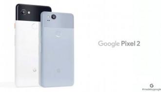 Google Pixel 2, kutusu açılırken görüntülendi