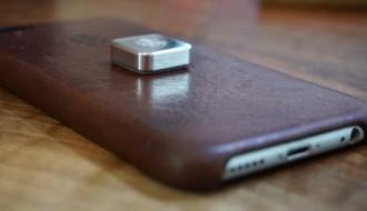 2000 mikro mıknatıs ile bezenen iPhone X, aşağıya atıldı