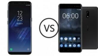 Galaxy S8 ile Nokia 6 hız testine girdi!