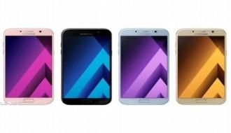 Samsung'un Galaxy S8 ile A5 modelleri hız testinde