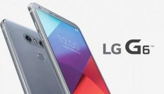 Gümüş LG G6'nın kutusunu açtılar